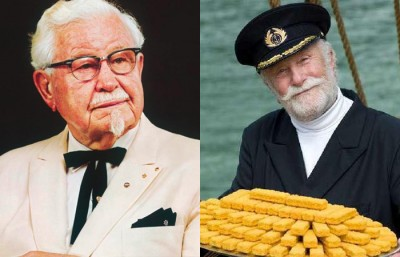 Colonel Sanders et Captain Iglo