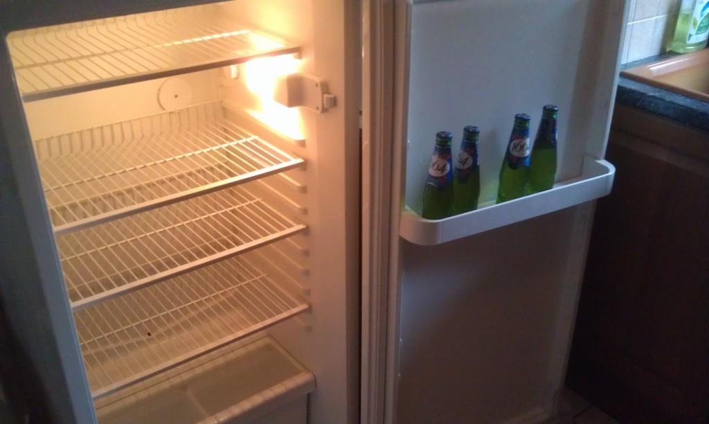Cadeaux de bienvenue dans le frigo du gîte