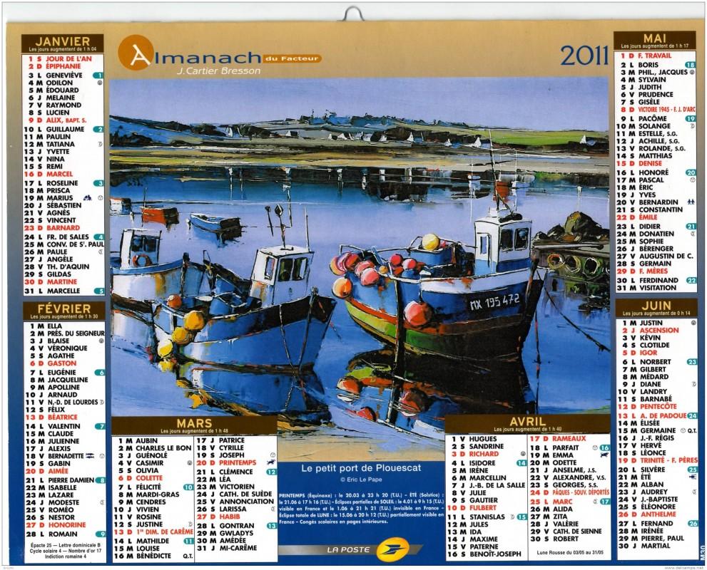 Almanach du facteur 2011