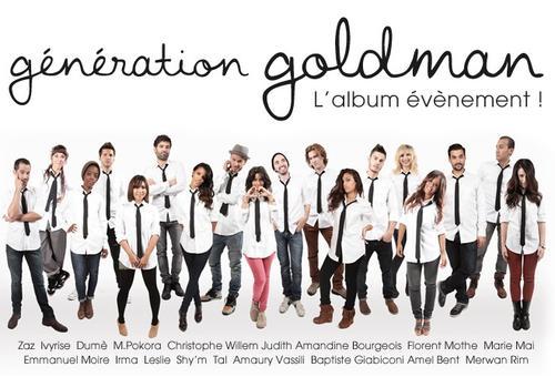 Génération Goldman : l'album évènement