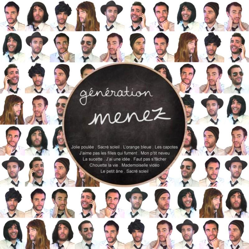 Génération Menez : tous les tubes de Bernard Menez (à commencer par Jolie Poupée) repris par Guillaume Pascal