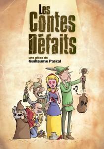Couverture du livre Les Contes Défaits
