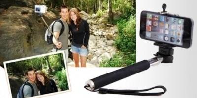 Le selfie stick permet de se prendre en photo comme si on avait un bras de l'inspecteur Gadget.