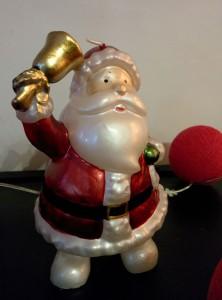 La bougie Père Noël